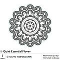 p110 quint-essential flower