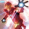 Panini marvel all new iron man & avengers