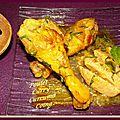 Poulet,curcuma, curry, et coing...
