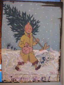 257 - Noel - Tintin