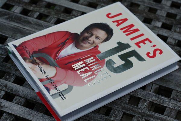 Jamie Oliver 15 minutes blog chez requia cuisine et confidences