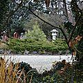 [drôme] le jardin zen de montvendre en hiver