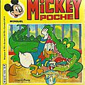 Mickey poche (1982) - six exemplaires