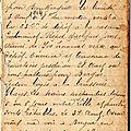 Guerre 14-18 : carnet de poilu - page 1