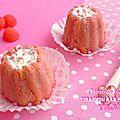 ♥ minis charlottes façon tiramisu à la fraise tagada® ♥