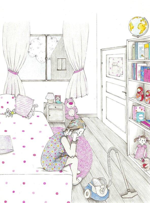 la chambre d'Elise