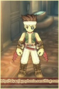 Costume Lloyd Pirate de face
