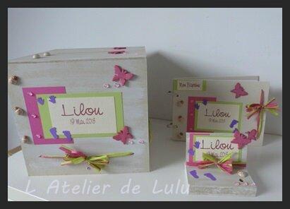 Decoration Bapteme Lilou L 39 Atelier De Lulu