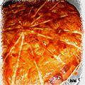 Galette des rois pistache- cerise