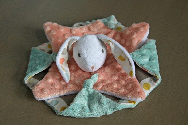 Doudou minibunny lapin petits dom (3)