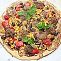 Pizza tex-mex