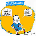 Franois Hollande  la tl face  la France