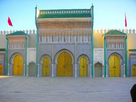 palais royale fes القـصر الملكي فــــاس