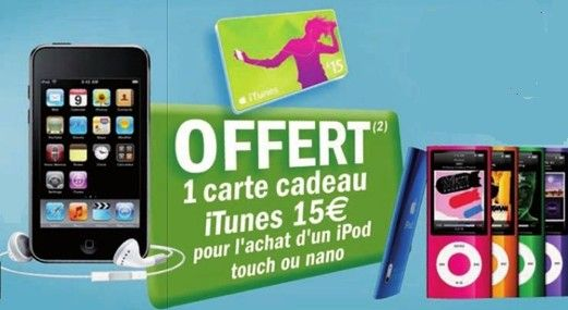 ipod touch 5 geant casino