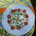 tagliatelles concombre