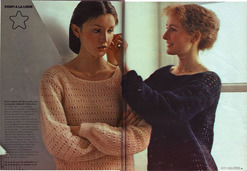 tricoter un pull simple