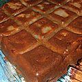 Gateau chocolaté aux poires au cook'in (ou non)