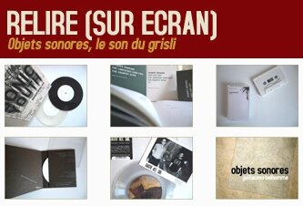 Relire : Objets sonores