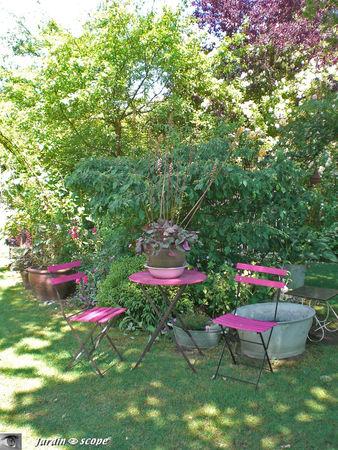 Le Jardin de Chantal et Alain Touzeau