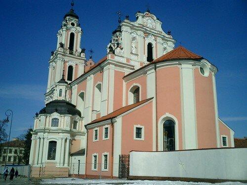 église rose