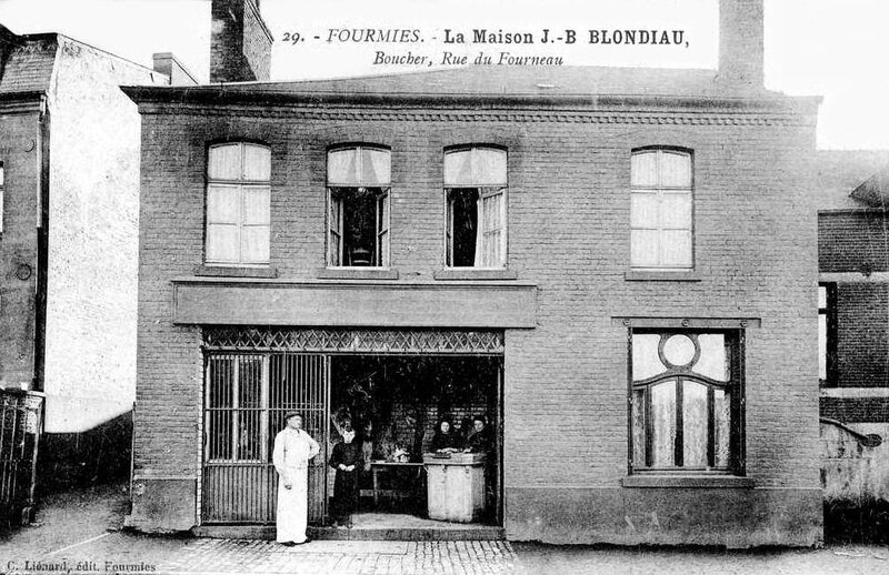 FOURMIES-Maison J-B BLONDIAU