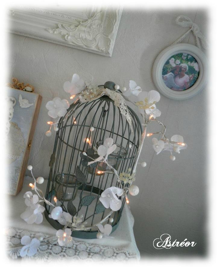 Decoration de noel rose poudr - Deco noel shabby chic ...