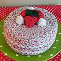Gâteau en tissu dînette feutrine Au pays des Cactus