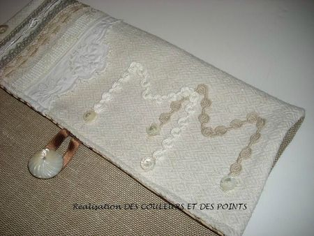 POCHETTE MARIE MADE DETAILS INITIALES