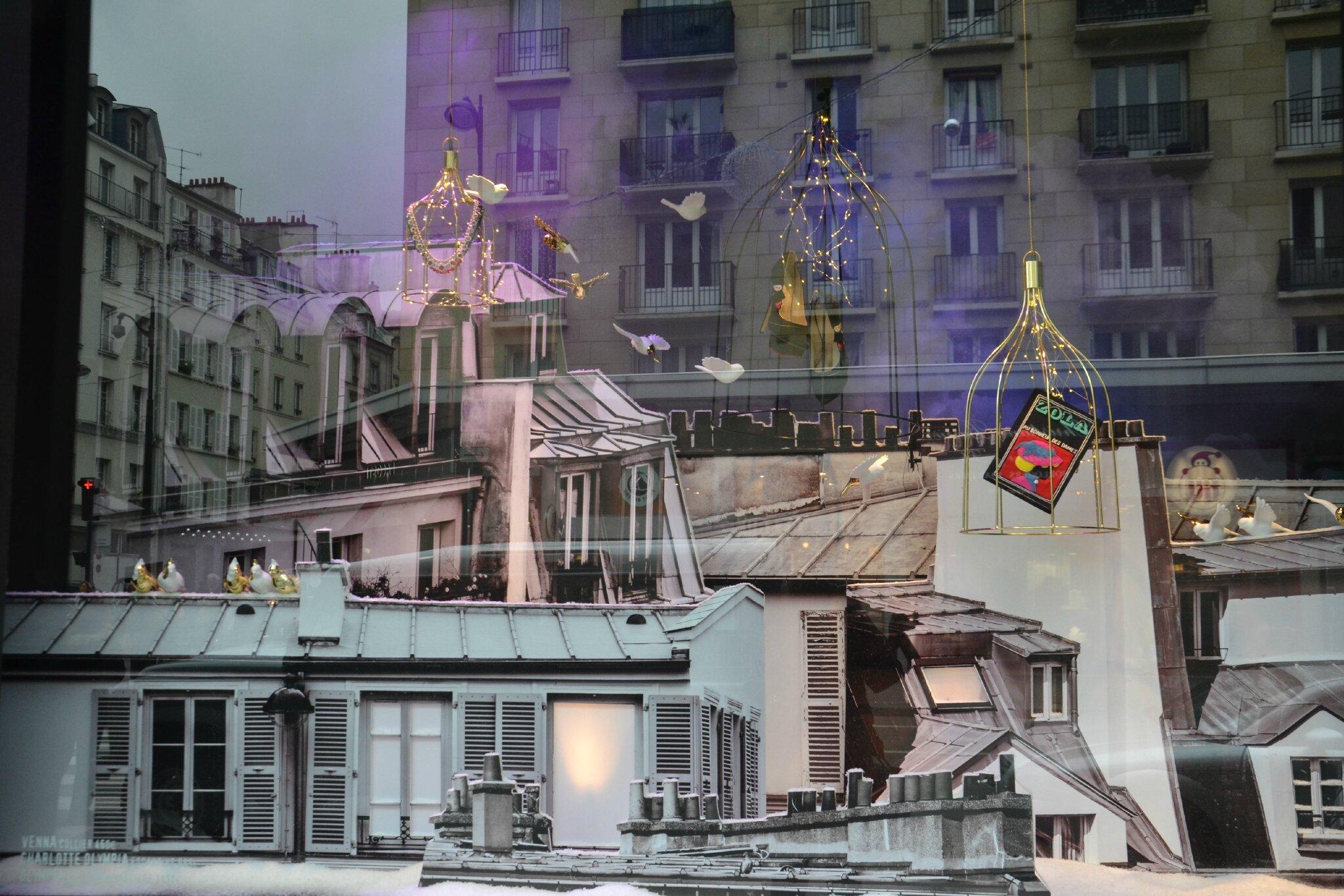 #5F4D6F Noël Au Bon Marché Les Vitrines Food Coaching 5347 décorations de noel bon marché 2048x1365 px @ aertt.com