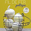 Jeux concours, gagnez 3 exemplaires du livre 'fil de fer poétique' de véronique decourty ( dame la lune )