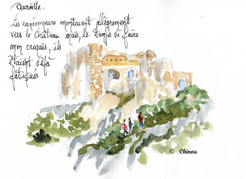 Aureille chateau