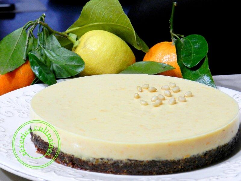 tarte pignon à la crème de clémentines 1