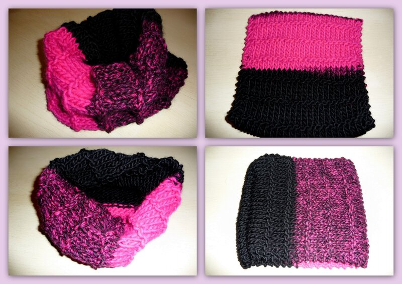snood laine katia cap junior