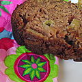 Cake pomme-rhubarbe ( à la compote )