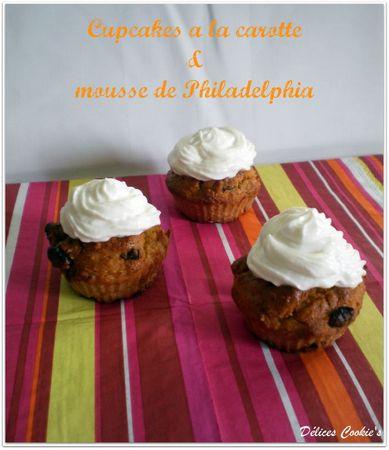 cupcakes carotte 1