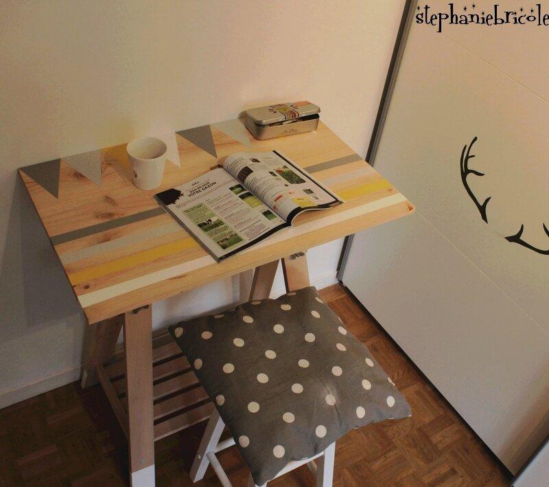 Un meuble avec un seul tréteau architecte !!!