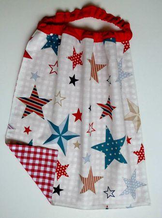 serviette élastiquée étoilesusa-RSB018agimage