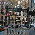 Barcelone, Métro_5872