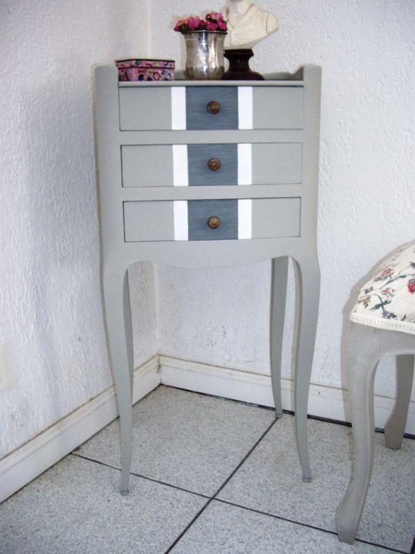 Table de nuit ray e photo de meubles l 39 esprit des lumi res - L esprit des lumieres ...