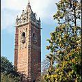 Cabot tower: bristol vu d'en haut