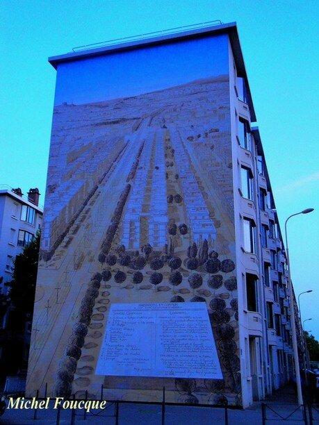 2) fresque musée urbain tony Garnier