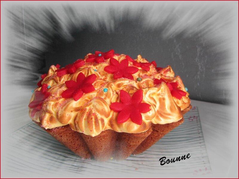 gros cupcake girly au citron meringué (7)
