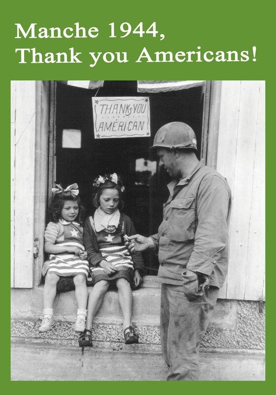 Manche 1944 Thank you Americans Dominique Forget réalisateur documentaire de guerre 2016