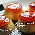 Crème caramel façon flamby