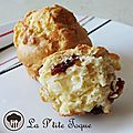 Muffin parmesan & cranberry