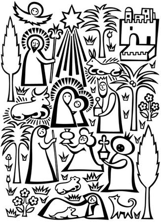 Nativity_card_by_alexander_girard_at_lagom