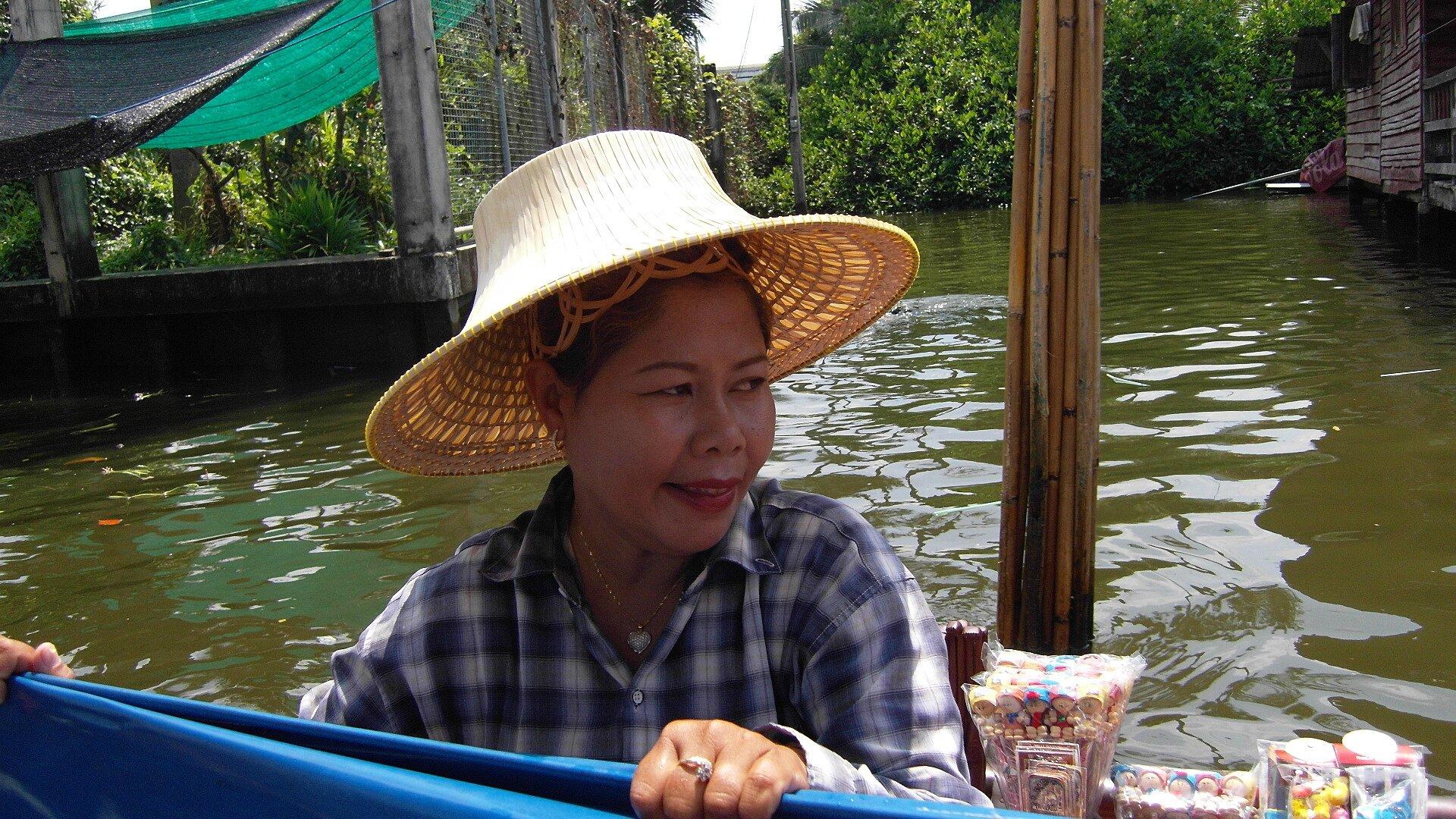 BANGKOK_Klongs jolie madame