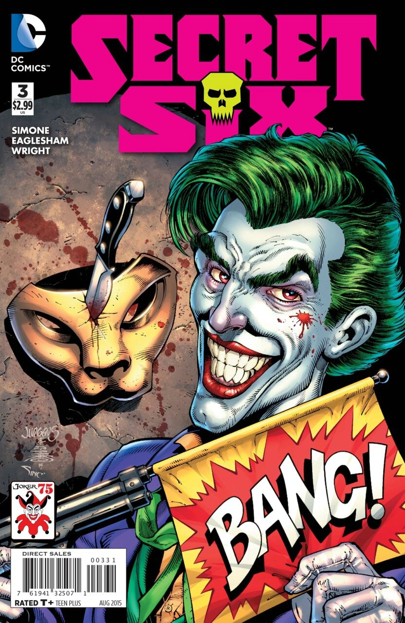 secret six 3 joker variant