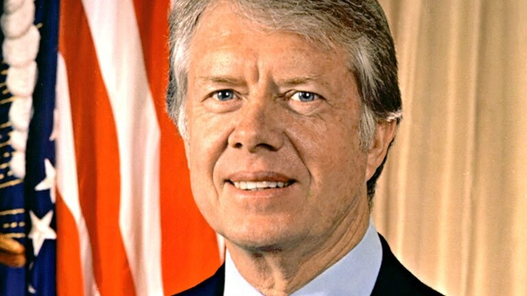 a biography of president james earl carter jr