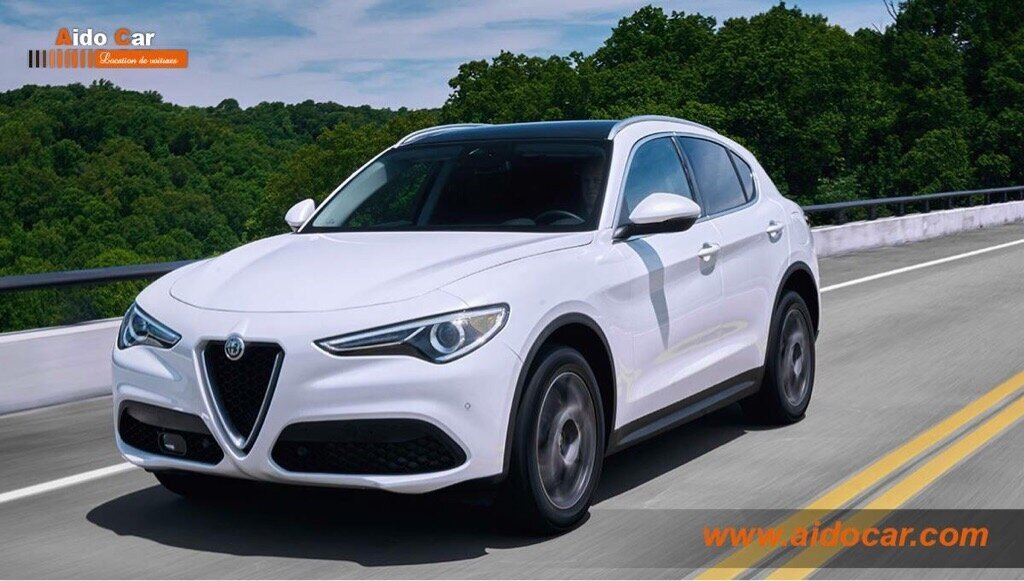 location alfa romeo stelvio avec aido car casablanca aido car casablanca location de voiture. Black Bedroom Furniture Sets. Home Design Ideas